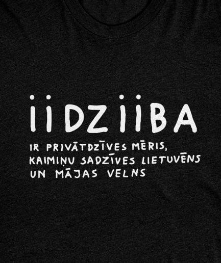 iidziiba t-krekls t-shirt