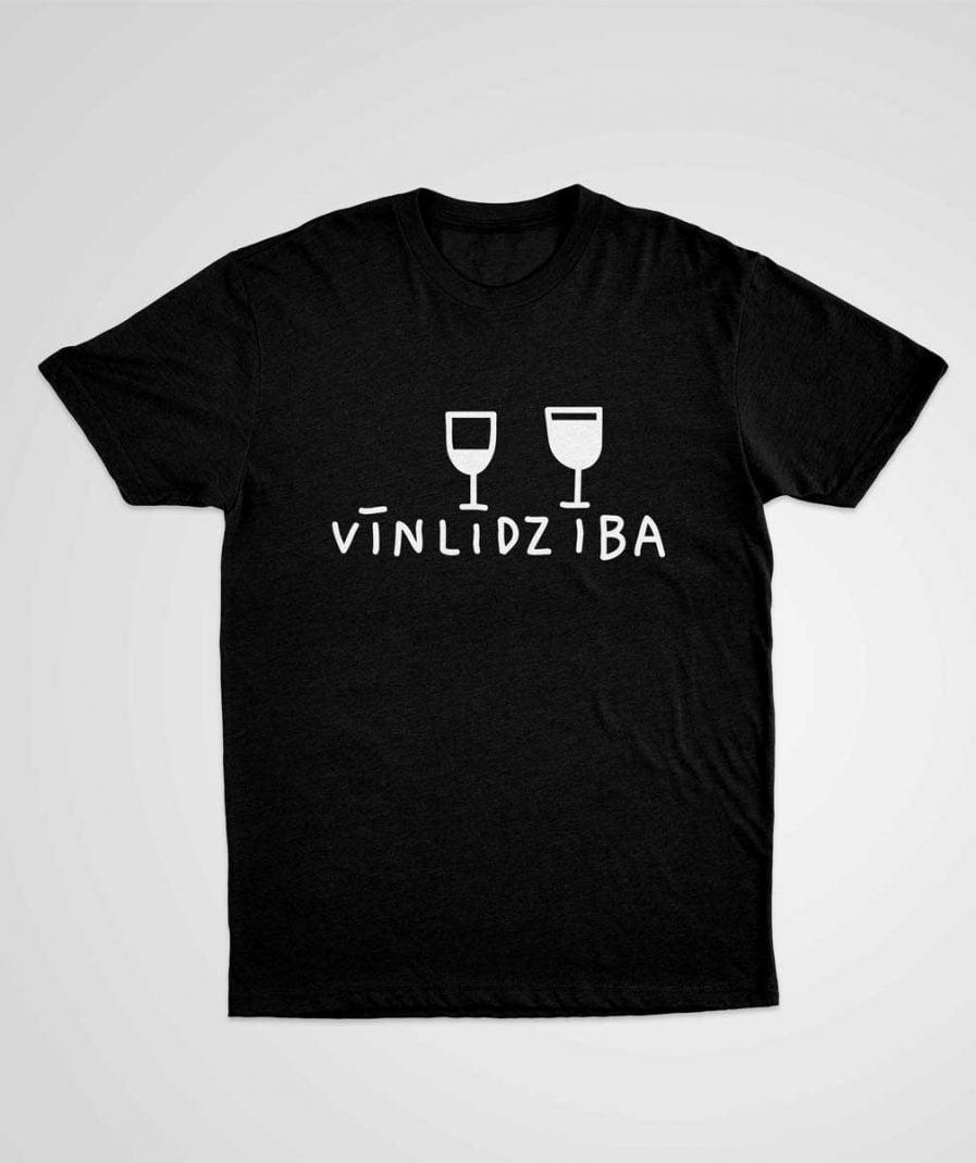 Vinlidziba t-krekls t-shirt