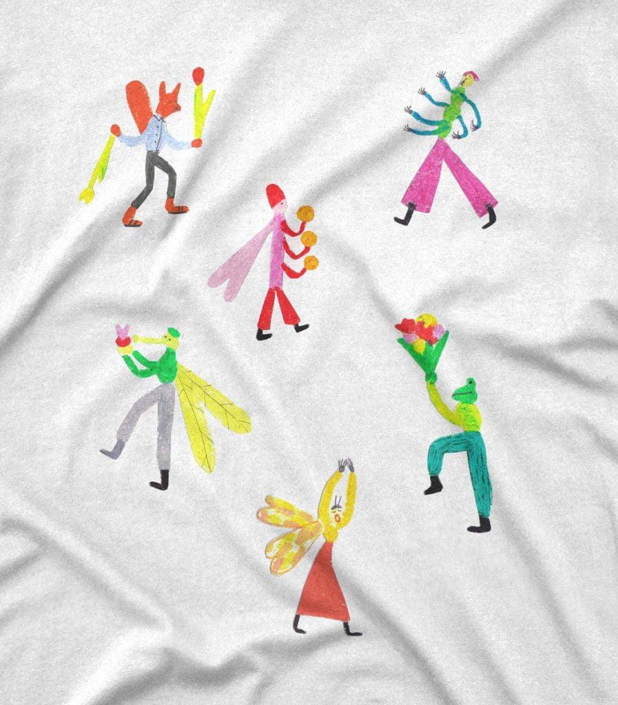 Rebeka Lukošus Vaboles T-krekls