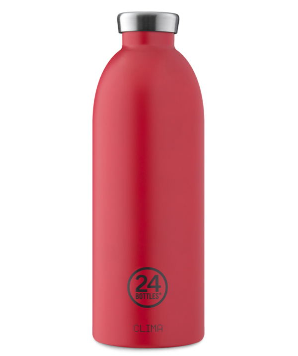 24Bottles Clima Bottle Hot Red