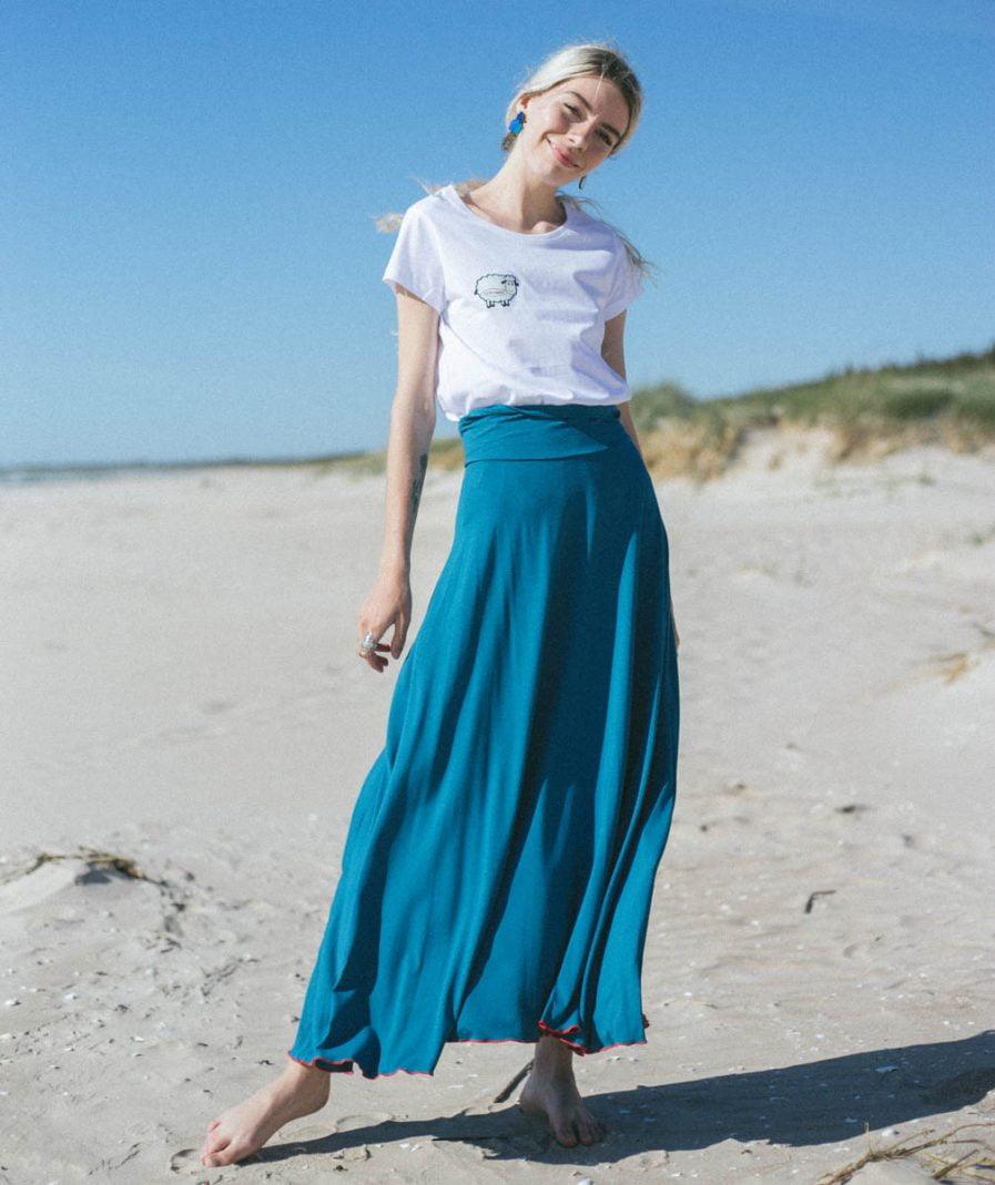 Saules Svārki Sieviešu Apģērbs