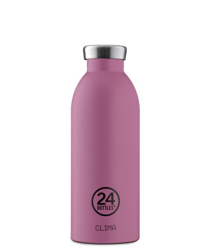 24Bottles Clima Bottle Mauve 500ml
