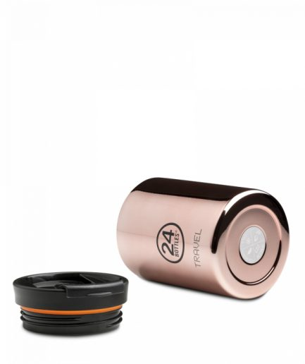 24Bottles Bottle Travel Tumbler Rose Gold 350
