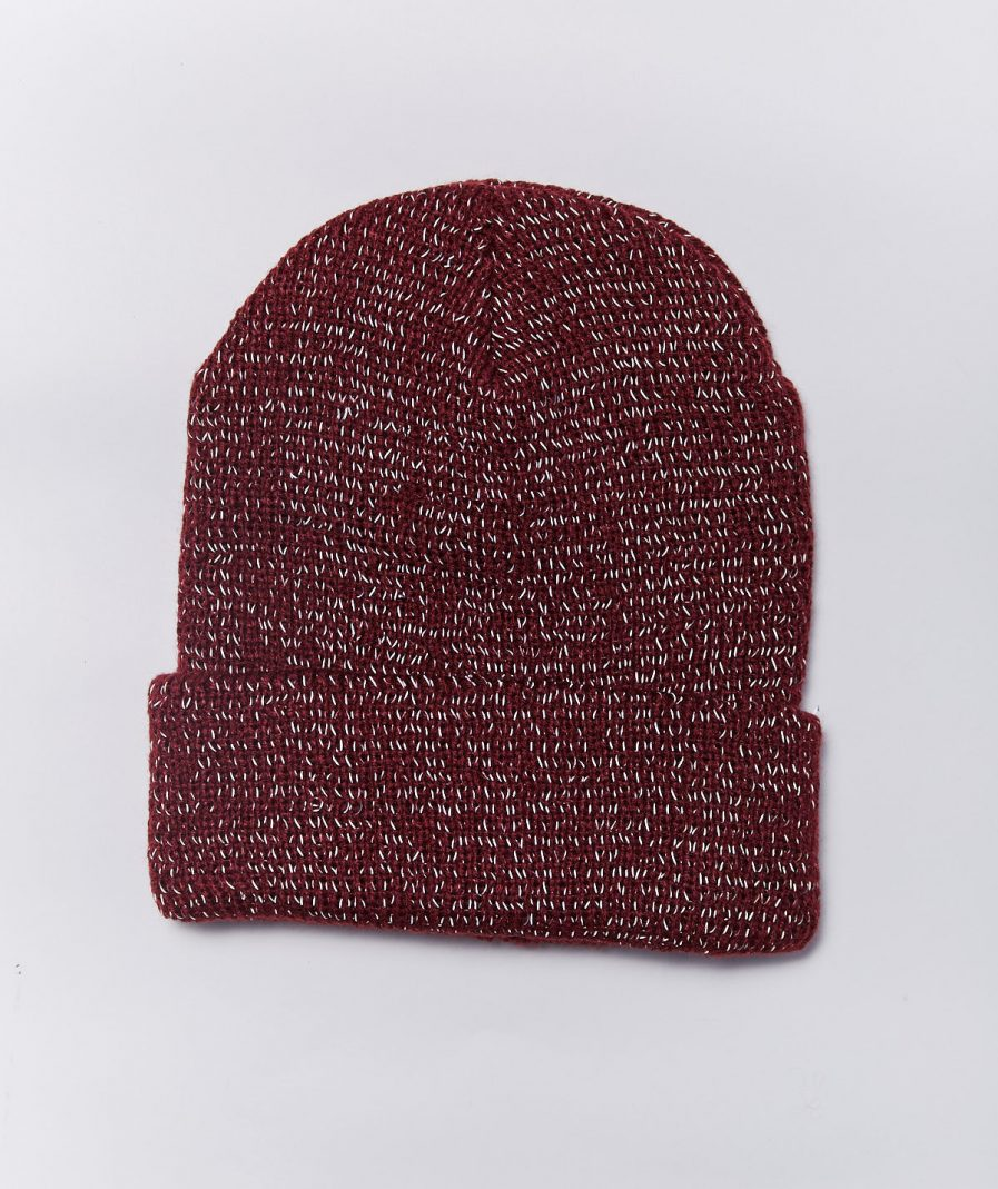 M50 Hat | Reflective Maroon Winter