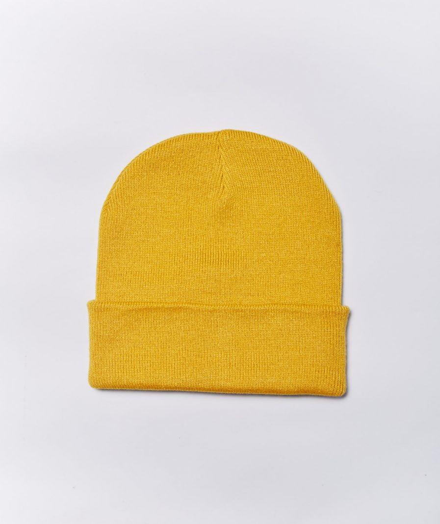 M50 Hat | Beanie Mustard