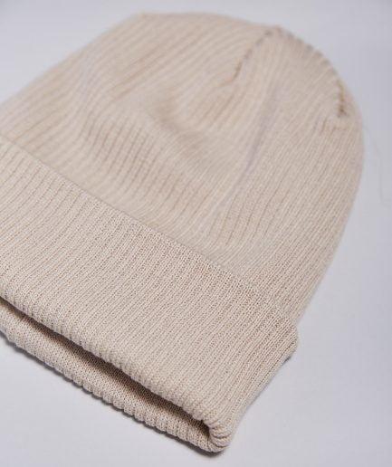 M50 Cepure | Organiskā kokvilna Smilškrāsas