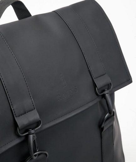RAINS Backpack Msn Bag Black