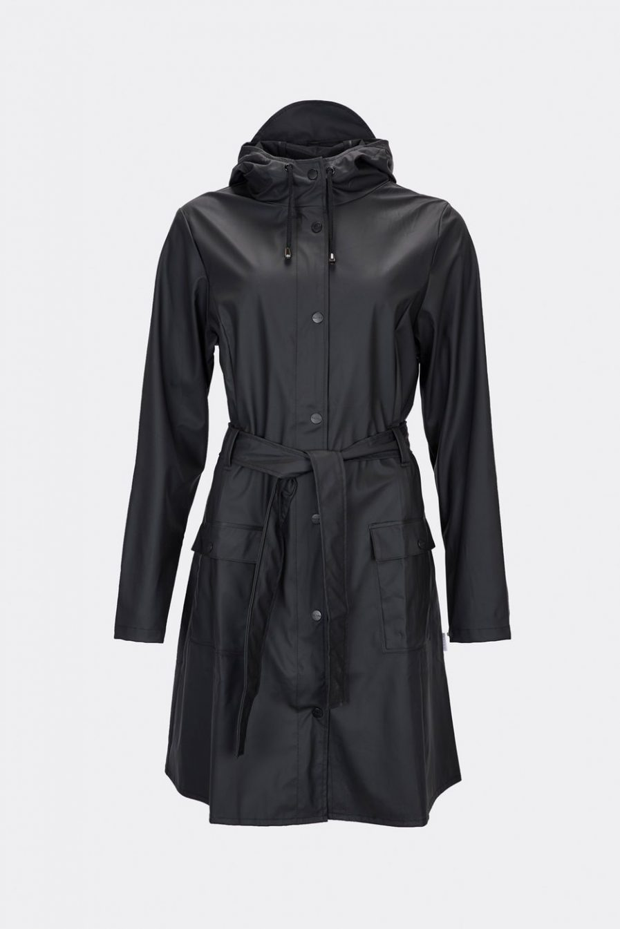 Rains Curve Jacket Black XXS/XS