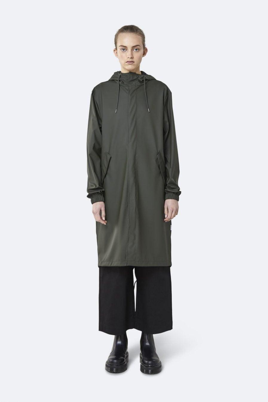 Rains Fishtail Parka Green XS/S