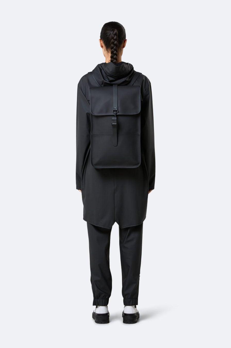 Rains Backpack Black