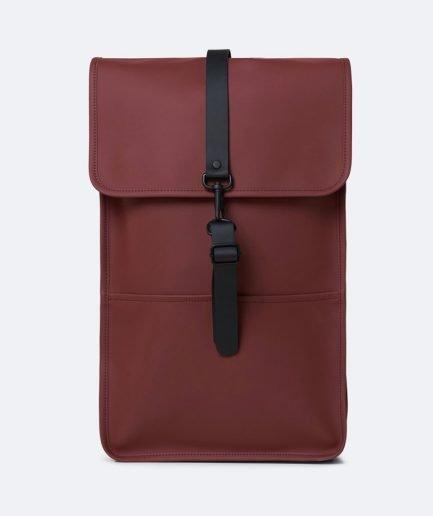 Rains backpack maroon