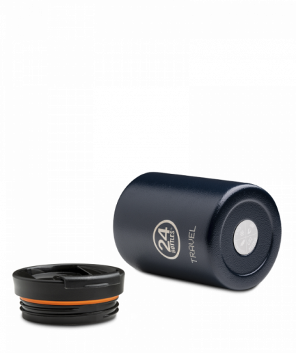 24Bottles Travel Tumbler 600ml Deep Blue