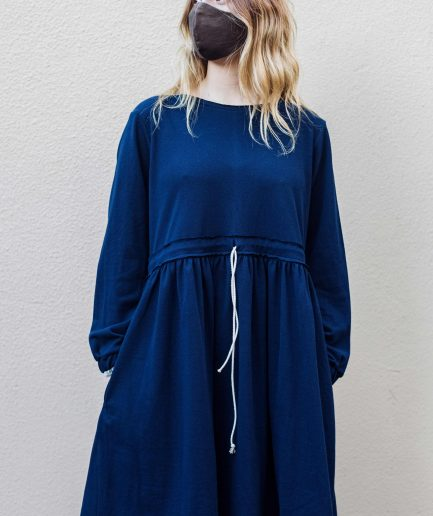 M50 Dress Cute with Pockets Navy Blue
