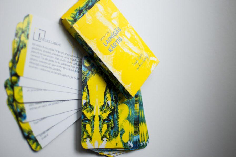 Didzis Jonovs HAPPY CARDS Yellow