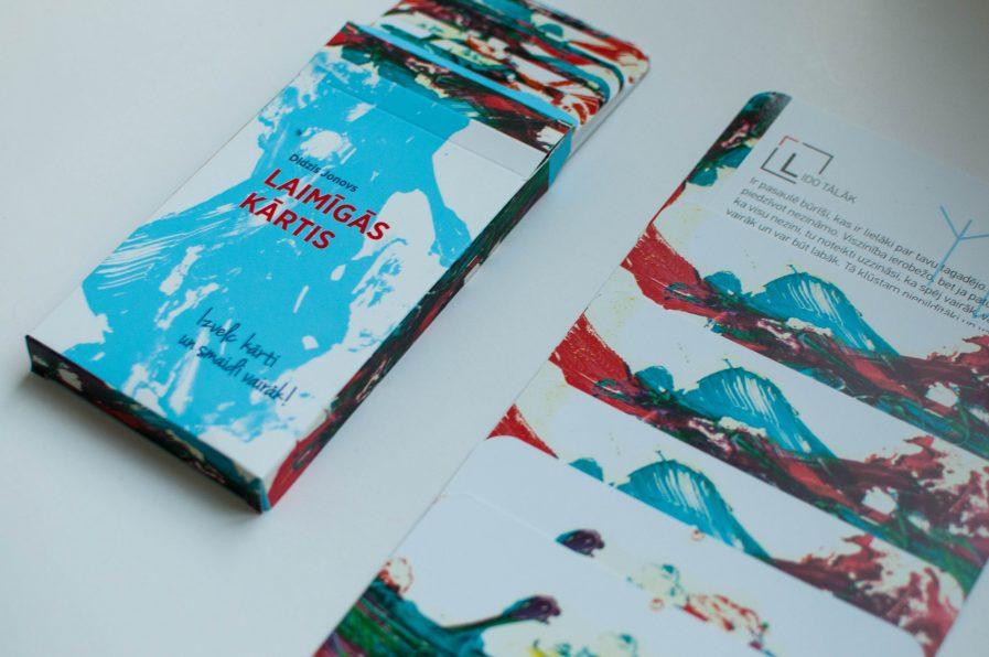 Didzis Jonovs HAPPY CARDS Blue