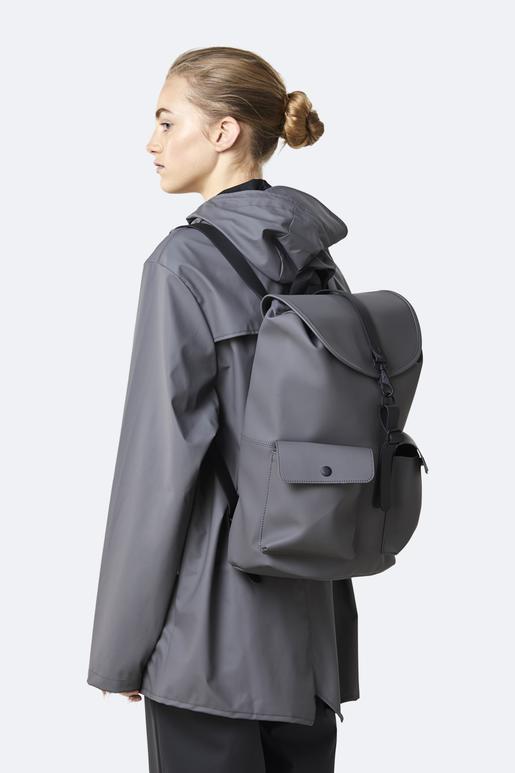 RAINS Camp Backpack Charcoal