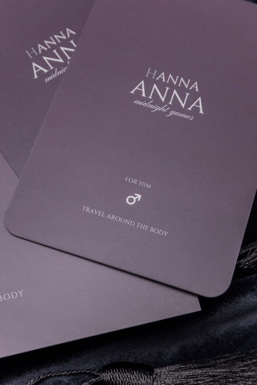 HANNA ANNA Game Travel Around The Body Game for Couples Romantic Erotic
