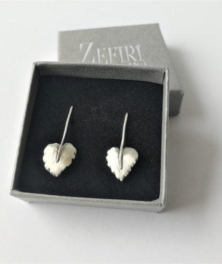 ZEFIRI CREATIONS Silver Earrings Mini No. 7