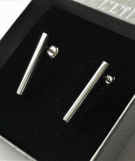 ZEFIRI CREATIONS Silver Earrings Mini No. 8