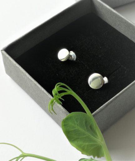 ZEFIRI CREATIONS Silver Earrings Mini No. 1