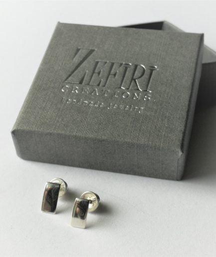 ZEFIRI CREATIONS Silver Earrings Mini No. 4