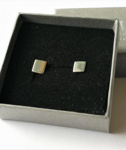 ZEFIRI CREATIONS Silver Earrings Mini No. 3