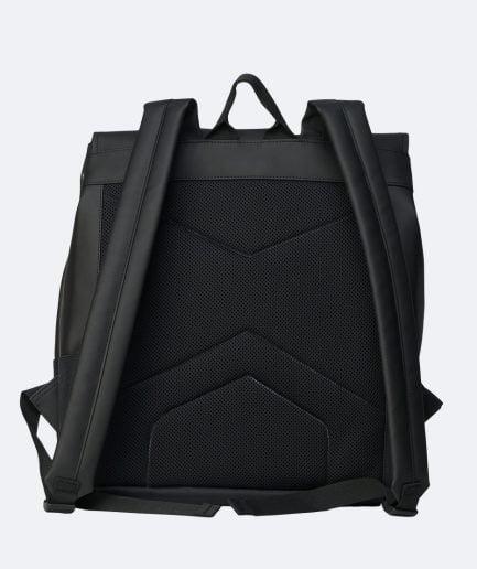 RAINS Buckle Rolltop MSN Bag Black