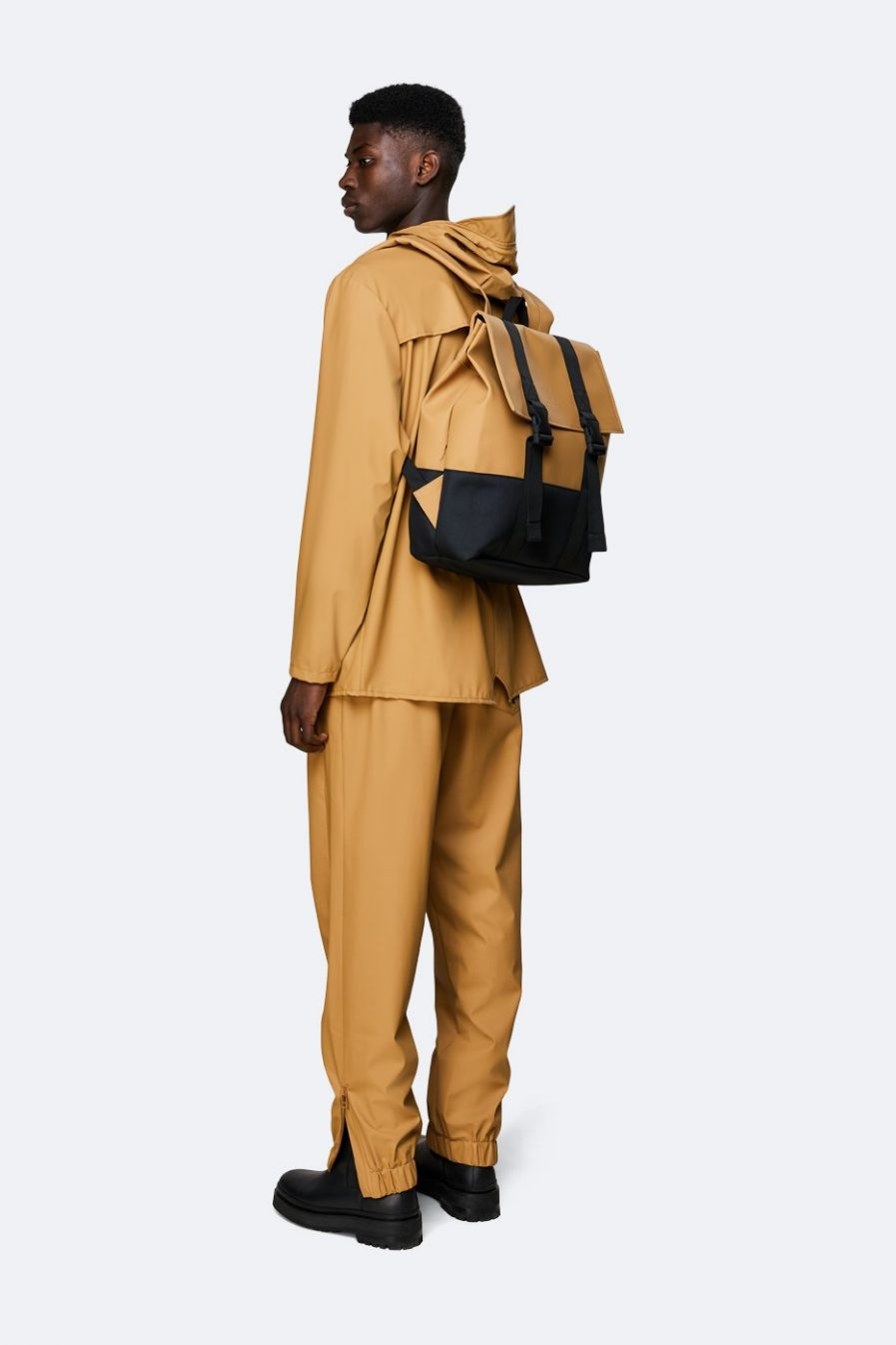 RAINS Buckle Rolltop MSN Bag Khaki