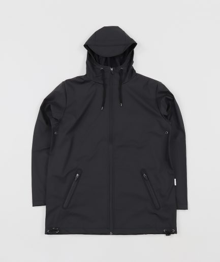 Rains Breaker Black Waterproof