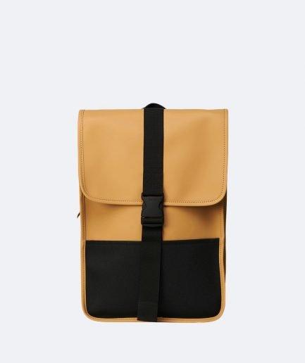 RAINS Buckle Backpack Mini Khaki