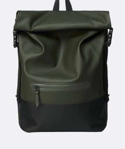 RAINS Buckle Rolltop Green