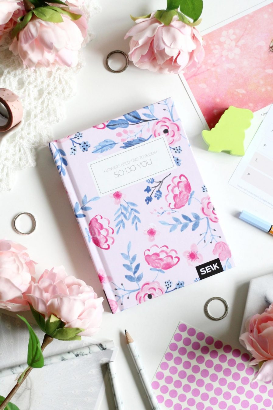 SEIK Happy Planner Blossoms
