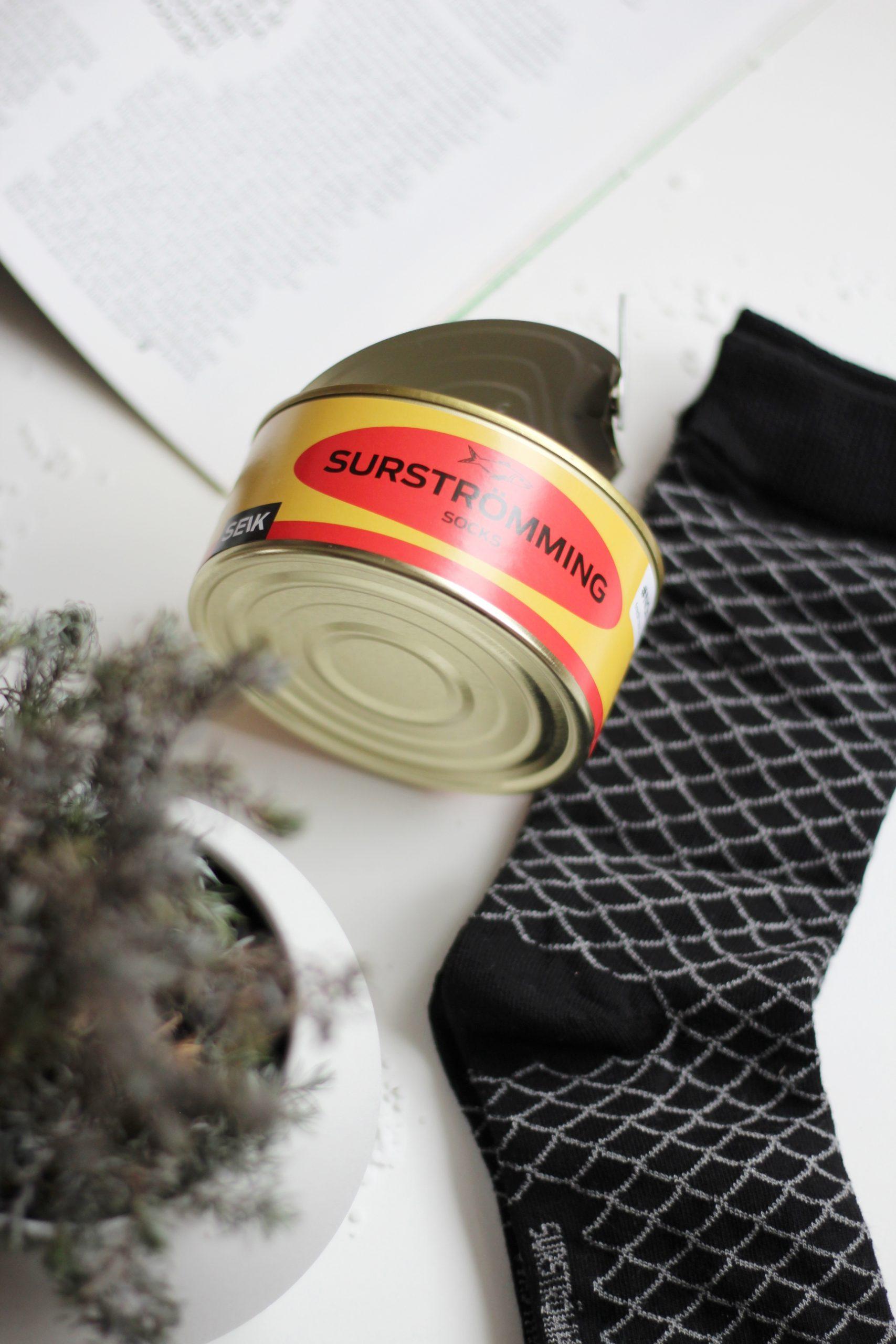 SEIK SURSTRÖMMING CANNED FISH SOCKS #NOFISH (SIZE 40 – 46, MEN)