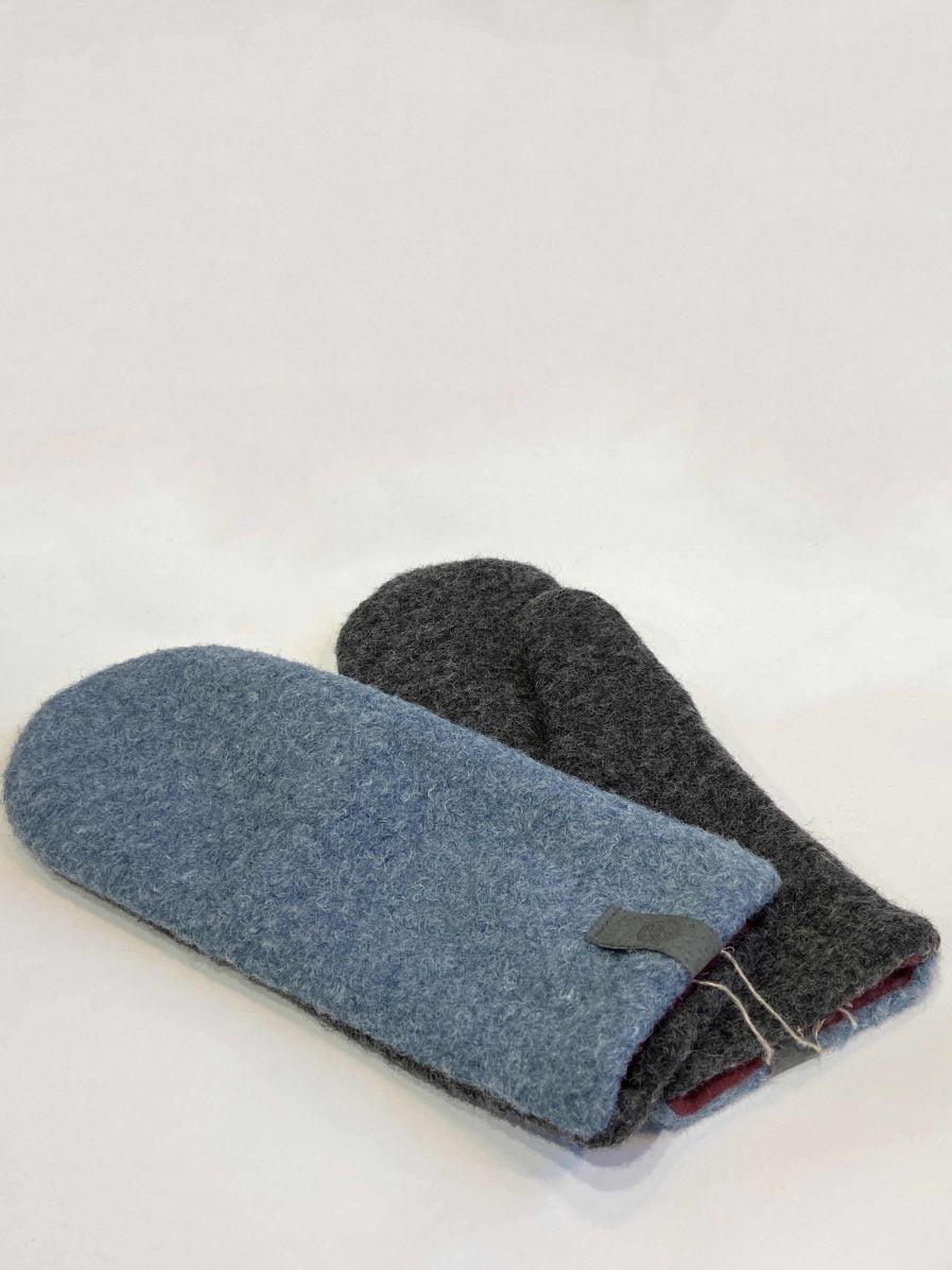 SARMA Gloves Light Blue With Dark Gray