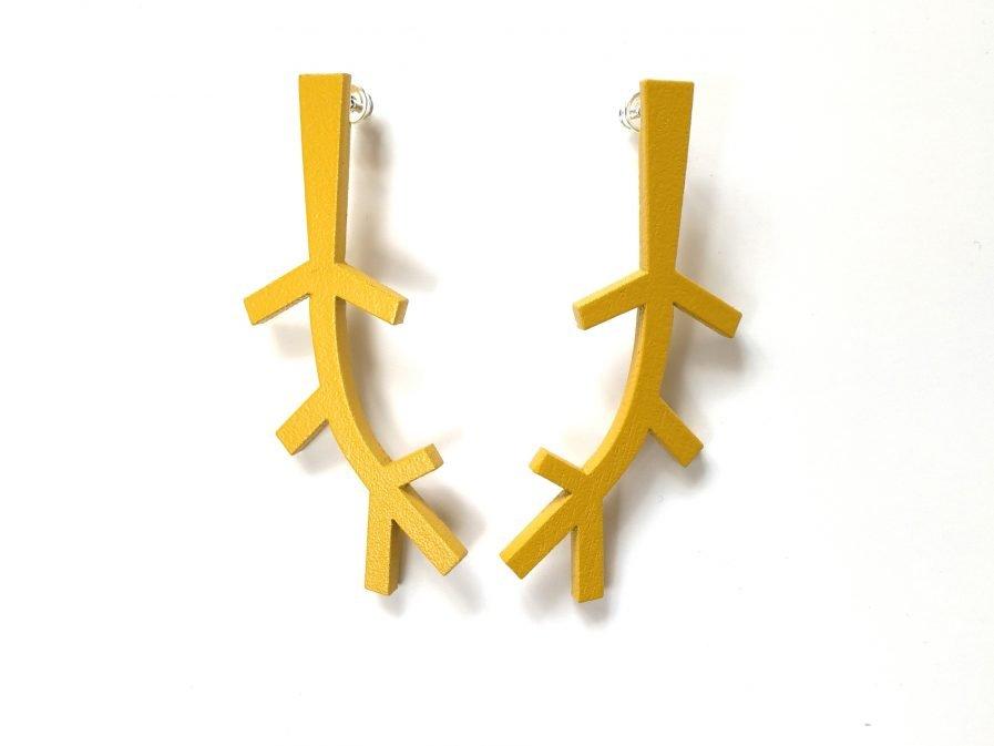 NADA Earrings Monochrome #1