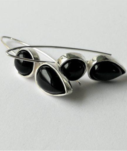 ZEFIRI CREATIONS Silver Earrings No. 1