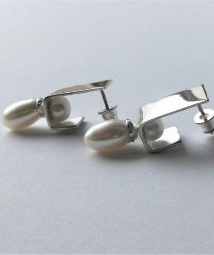 ZEFIRI CREATIONS Silver Earrings No. 2