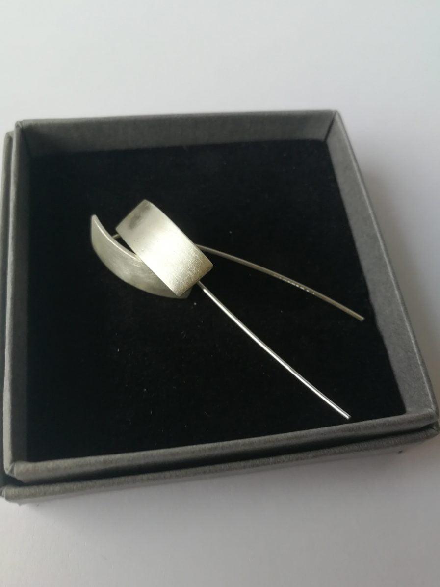 ZEFIRI CREATIONS Silver Earrings No. 4