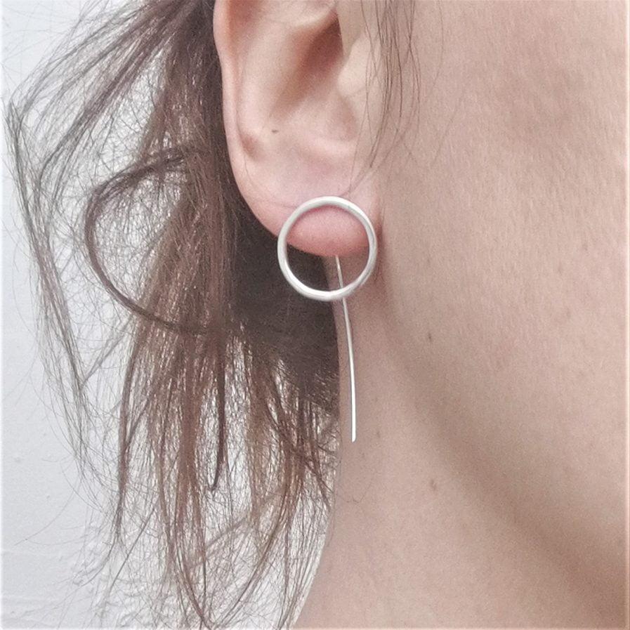 ZEFIRI CREATIONS Silver Earrings No. 5