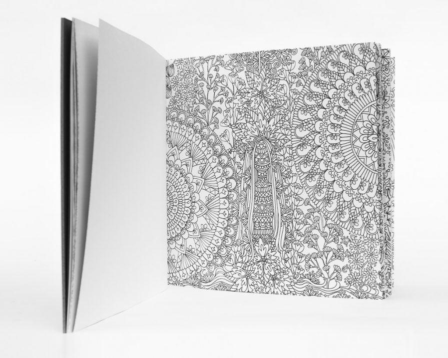 COLOUR AWAY Colouring Book by Anete Vanaga