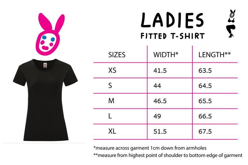 iidziiba Ladies T-Shirt Nedarba Diena