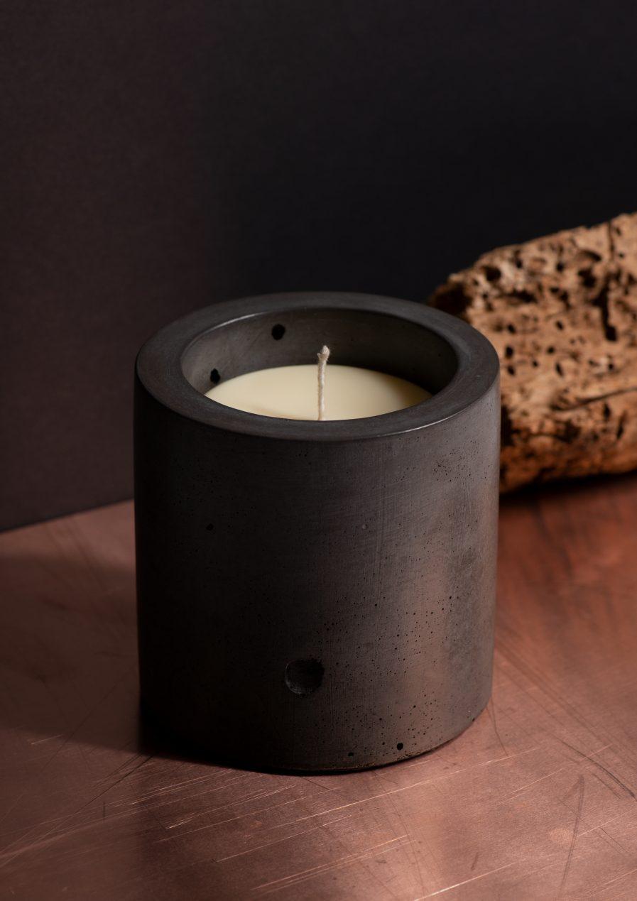 Sensous Container Candle Orange-cedar Black
