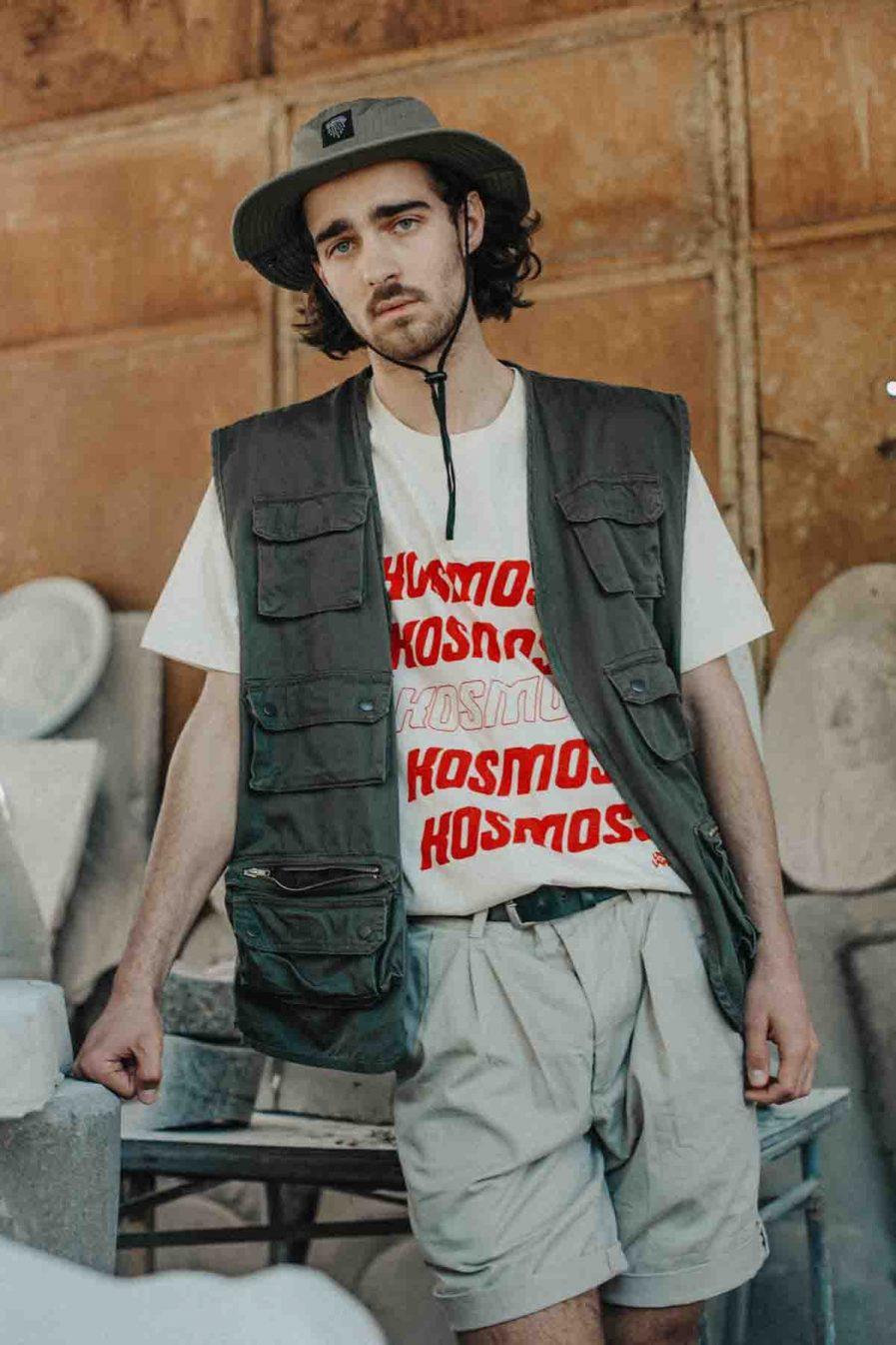 Kosmoss - The Universe Organic Cotton T-shirt