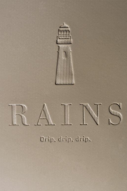 RAINS Base bag Taupe