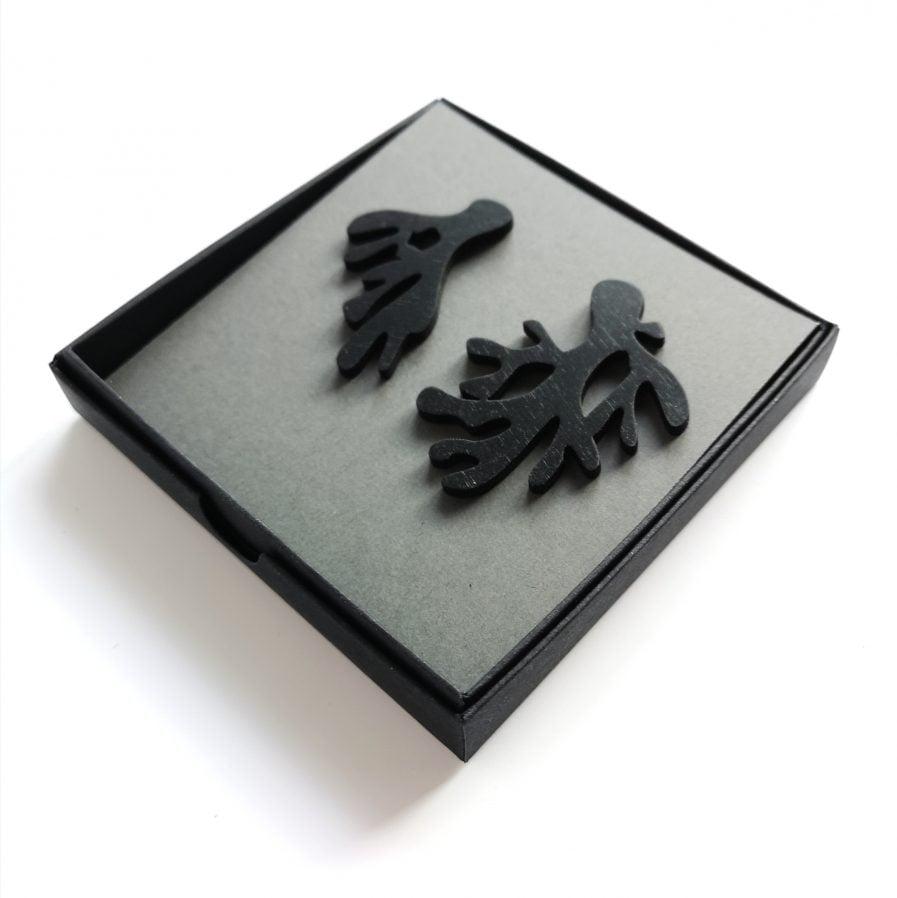 NADA Earrings #078 Asymmetric