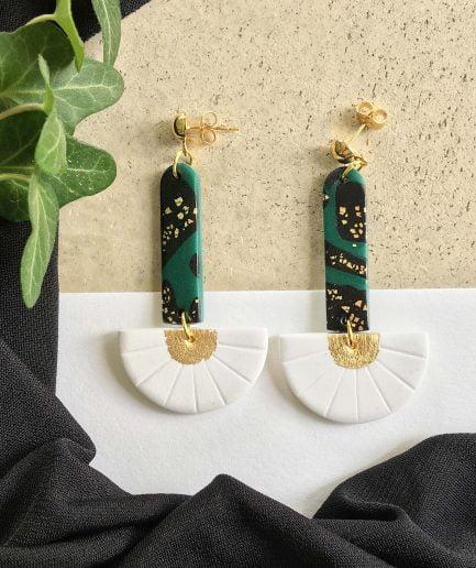 PLUME Earrings ArtDeco