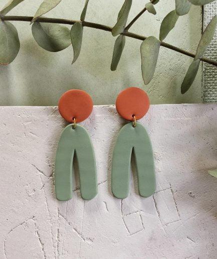 PLUME Dangle Statement Earrings
