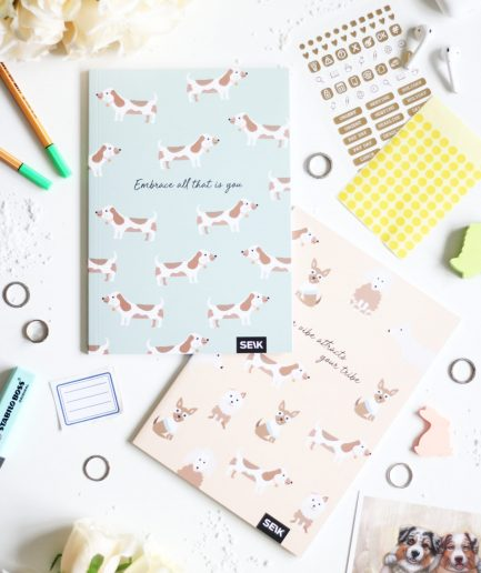 SEIK BULLET JOURNAL DOGS & PUPPIES