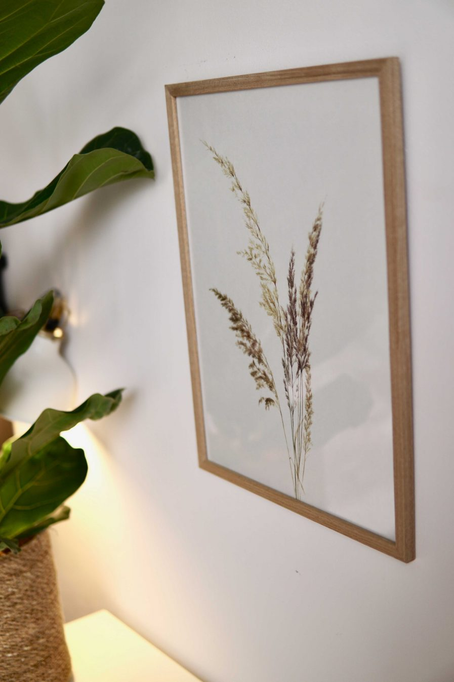Botanical watercolour poster print BENT