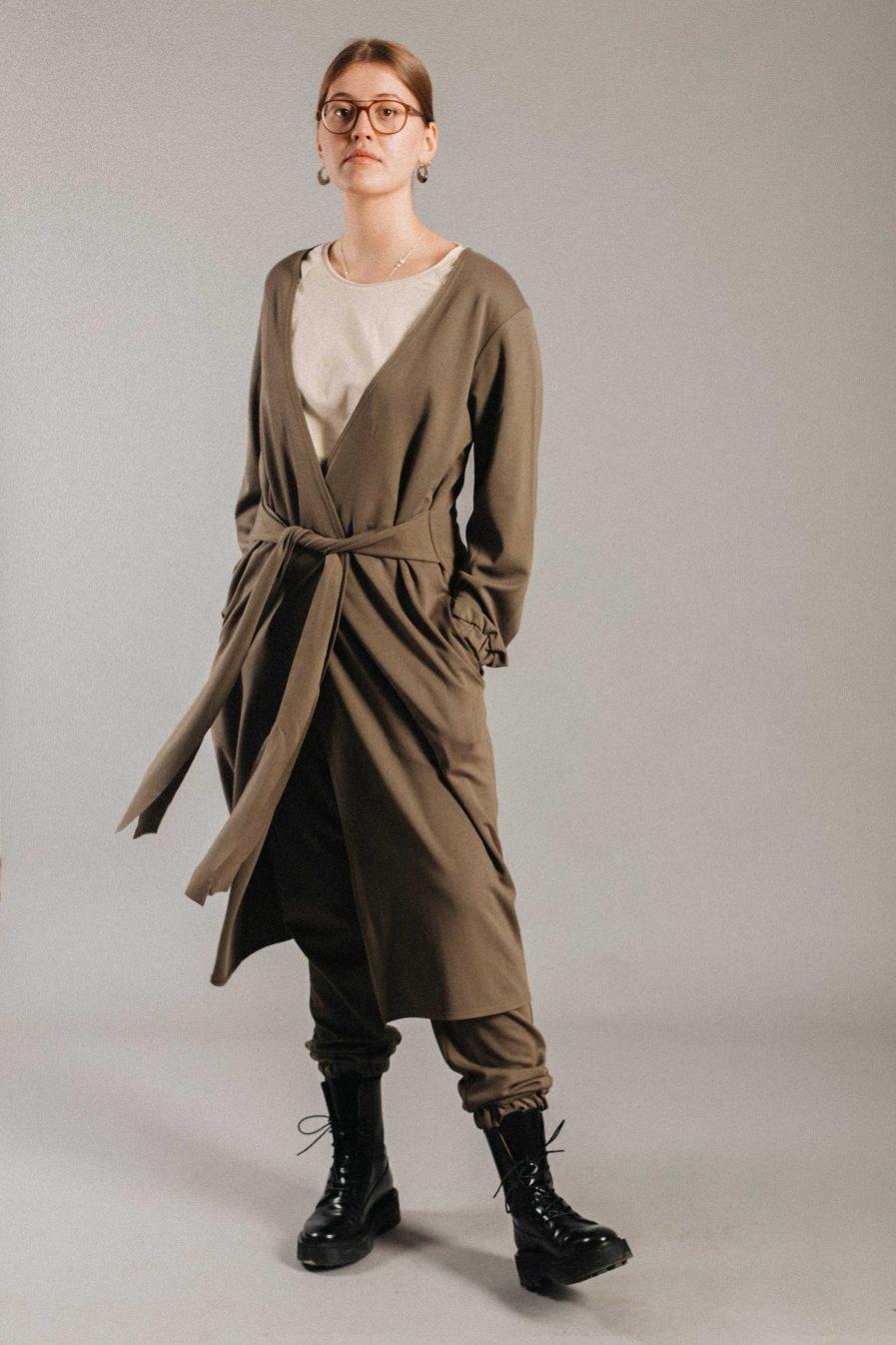 M50 Long Jacket Khaki